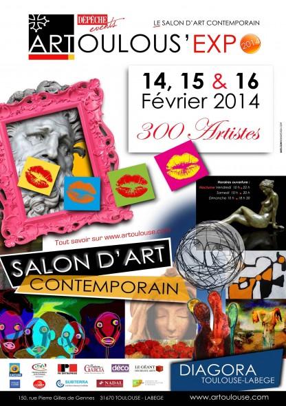 Salon d 39 art contemporain artoulous 39 expo l 39 atelier g ant for Salon art contemporain montpellier