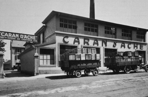Fabrique Caran d'Ache en 1924