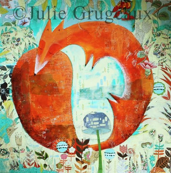 L'artiste du mois de novembre : rencontre avec Julie Grugeaux, peintre et illustratrice jeunesse