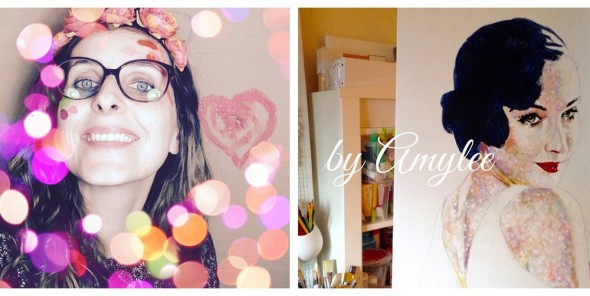 Rencontre avec Amylee, artiste peintre et blogueuse