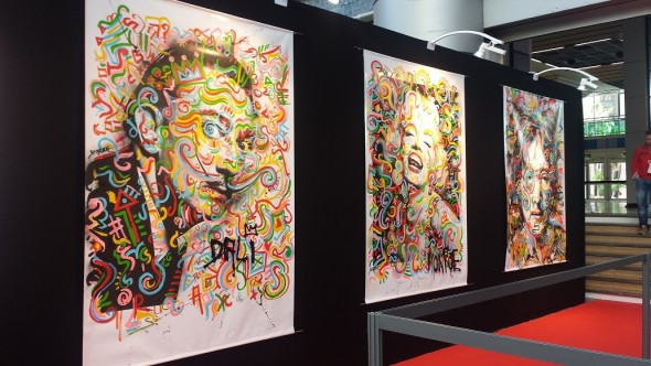 Retour en photos sur le salon Art3f de Nice - octobre 2015