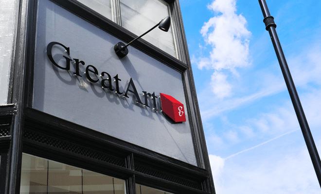 Londres ouverture du premier magasin greatart - Le geant des beaux arts bordeaux ...