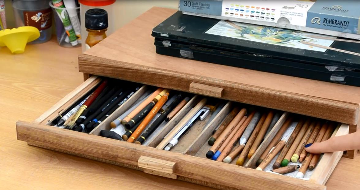 comment ranger ses pastels secs par l 39 artiste cindy barillet. Black Bedroom Furniture Sets. Home Design Ideas