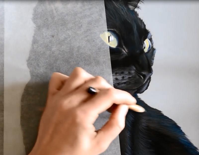 Peindre les sujets noirs aux pastels secs avec l 39 artiste - Geant beaux arts paris ...