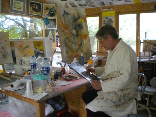 Rencontre avec l 39 artiste ren laurensou adepte des - Geant des beaux art paris ...