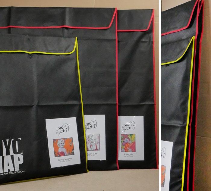 Biyomap la housse d 39 emballage tableau pr sent e par amylee - Geant des beaux art paris ...