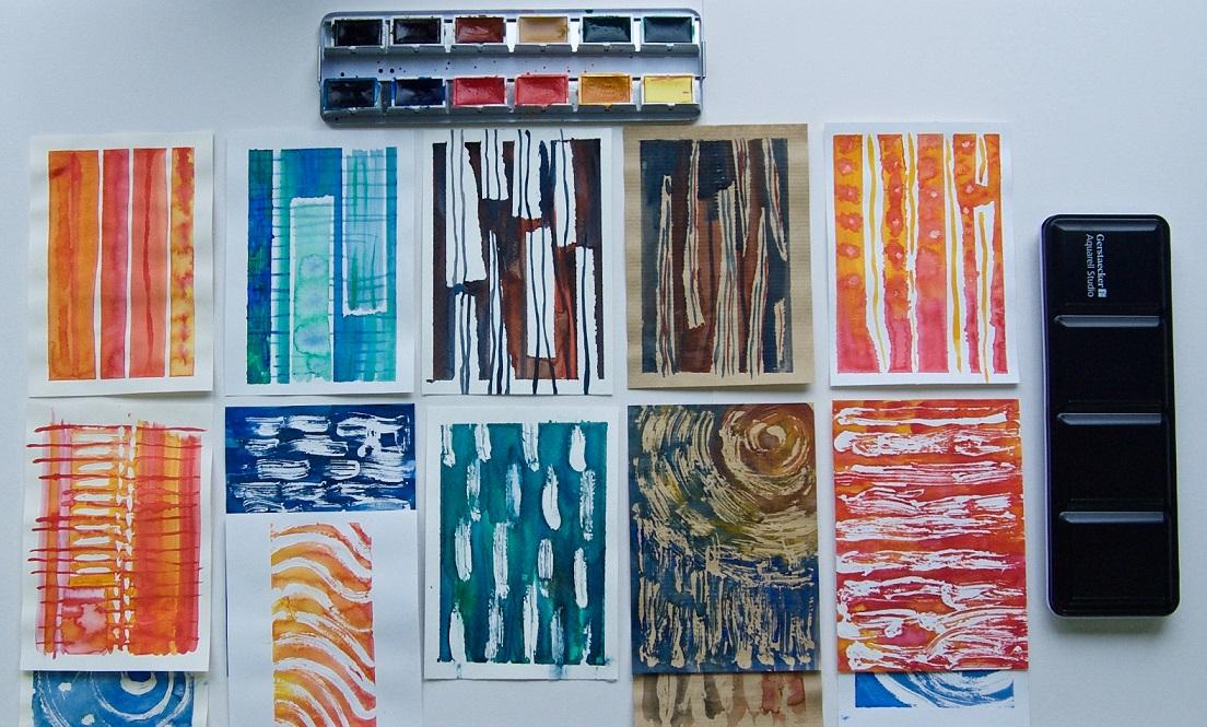 test des blocs gerstaecker l 39 aquarelle par jo york. Black Bedroom Furniture Sets. Home Design Ideas