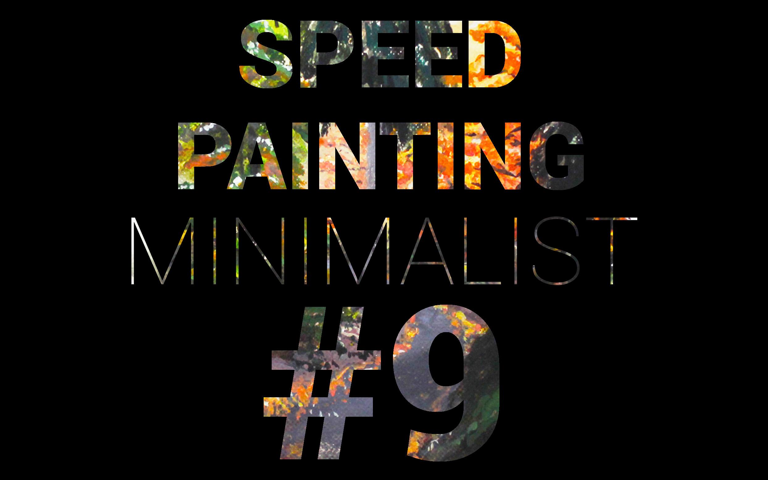 Speed painting minimalist for t l 39 acrylique par iamb art - Geant des beaux art paris ...