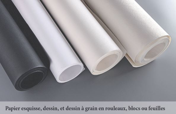 clairefontaine une grande diversit de supports pour le dessin. Black Bedroom Furniture Sets. Home Design Ideas