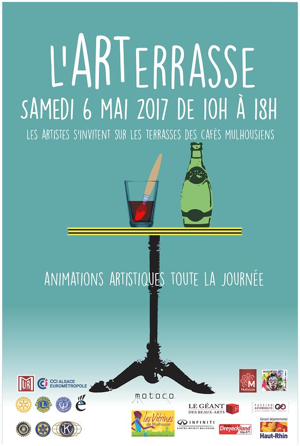 Les artistes s 39 invitent mulhouse arterrasse 2017 - Geant beaux arts paris ...