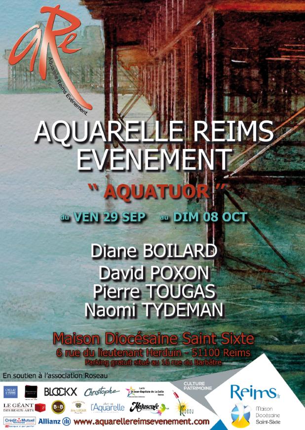 Aquarelle reims ev nement l 39 atelier g ant - Geant des beaux art paris ...