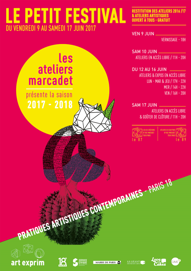 Les ateliers marcadet paris l 39 atelier g ant - Le geant des beaux arts paris ...