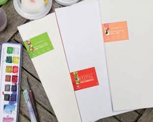 Le papier Clairefontaine aquarelle Etival testé par Amylee