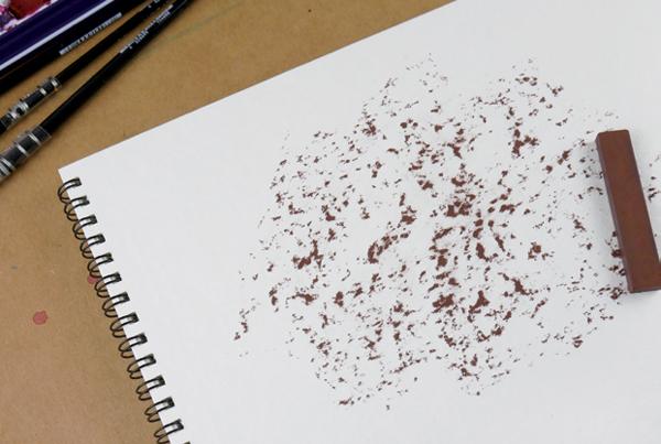 Watercolour Torchon