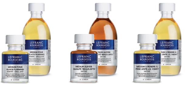 Les additifs Lefranc Bourgeois pour la peinture à l'huile