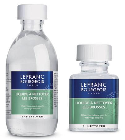 Liquide à nettoyer les brosses Lefranc&Bourgeois