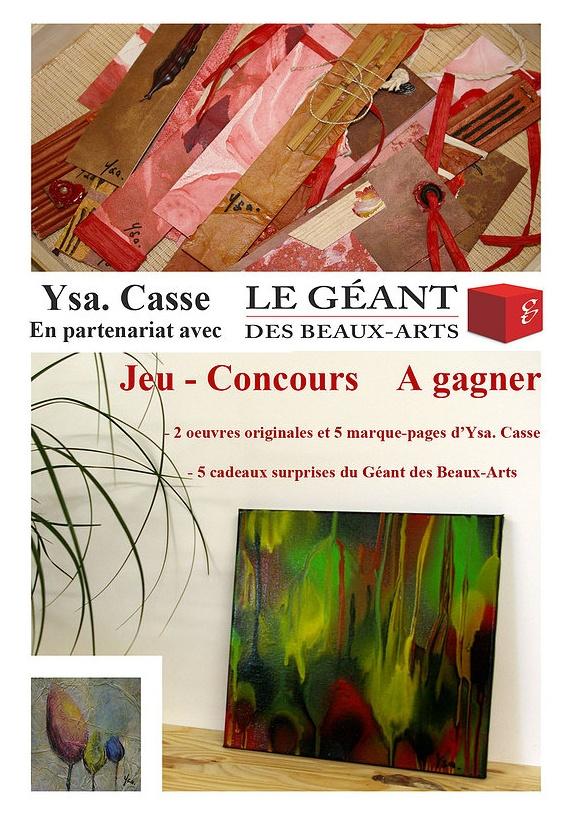 Jeu-concours Ysa Casse