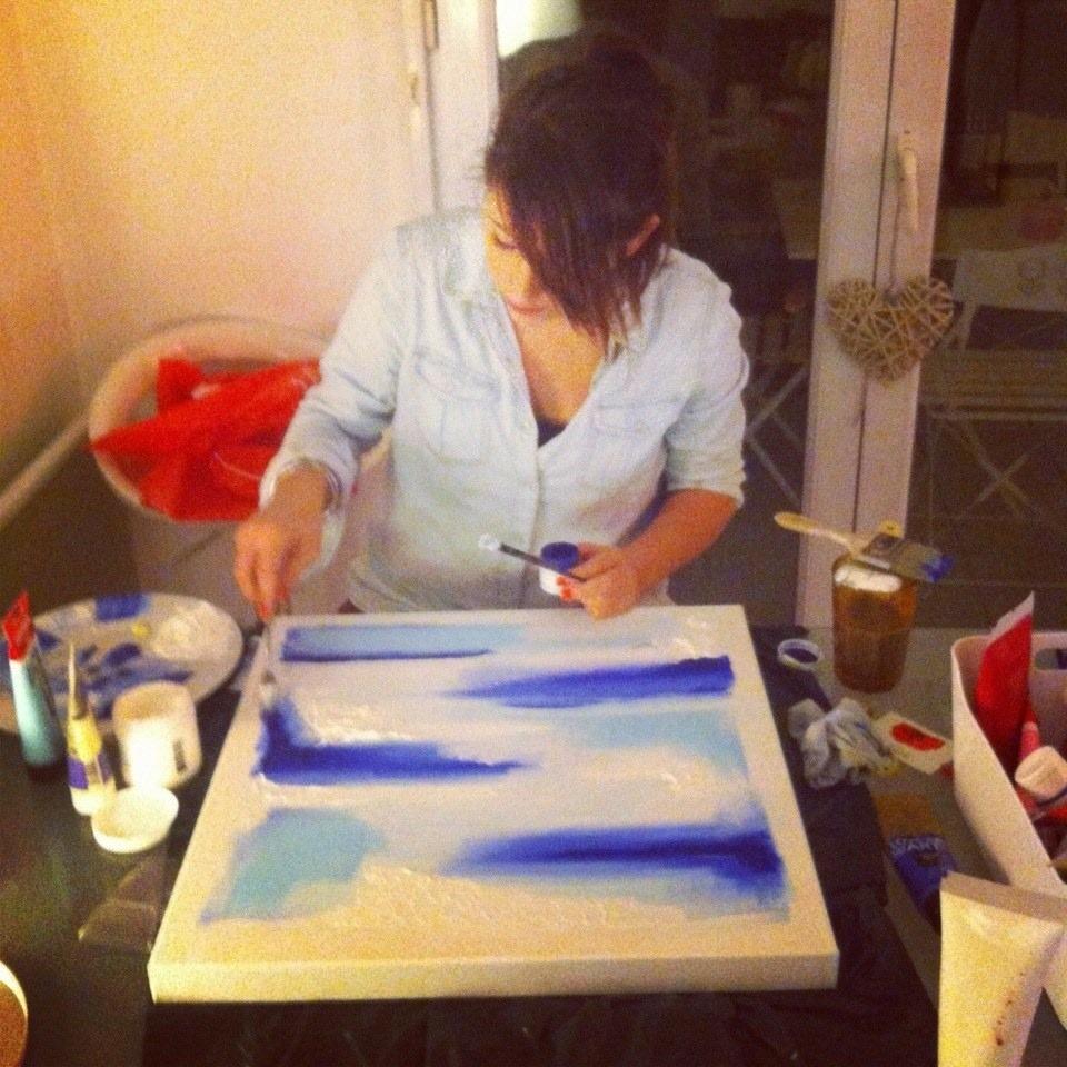 Laetitia Laur, responsable du magasin Géant des Beaux-Arts de Paris 11