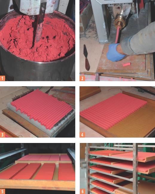 La fabrication des pastels secs Blockx