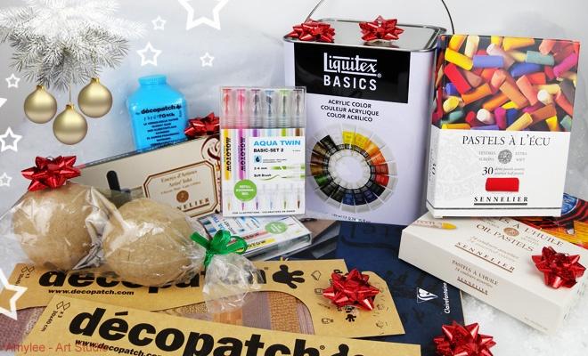 Noël 2015 : Top 7 des idées cadeaux pour Artistes par Amylee