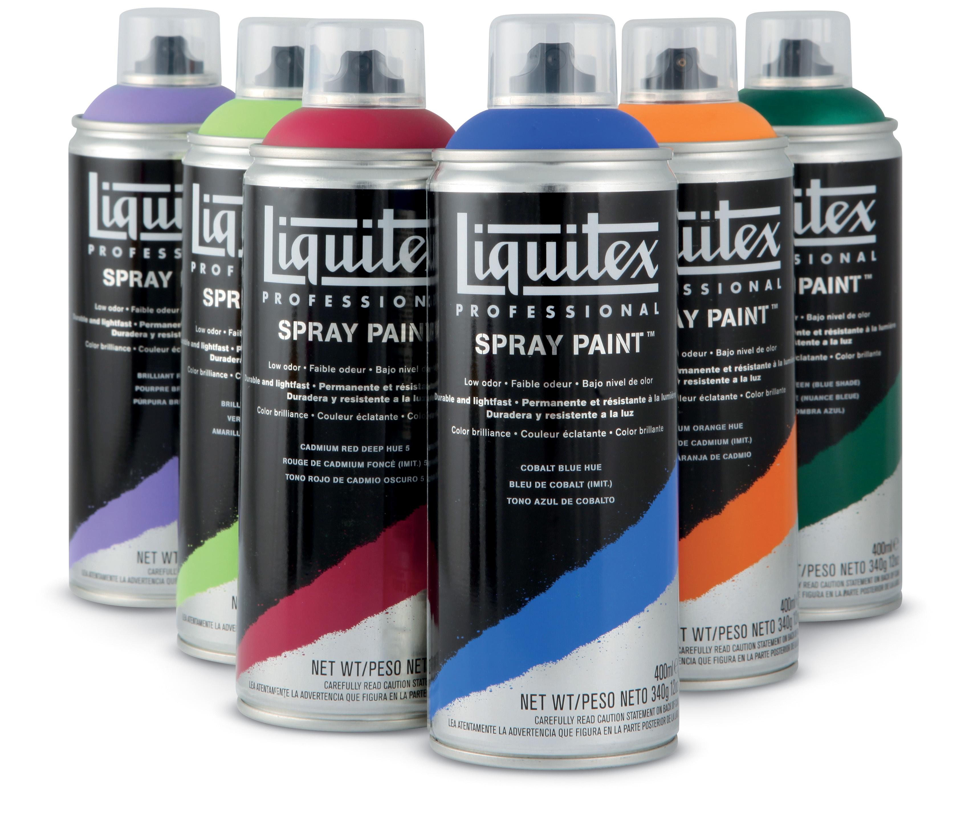 Nouveauté : la peinture aérosol Liquitex Spray Paint