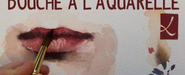 Dans cette vidéo Louise vous explique comment peindre une bouche à l'aquarelle !