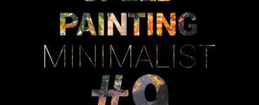 Speed Painting minimalist - Forêt à l'acrylique par IAMB art