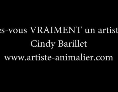Etes-vous (vraiment) un artiste ? par Cindy Barillet