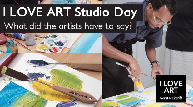 I Love Art Studio Day