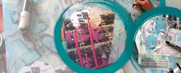 Richard Jarvis Product Demonstrations - Mixed Media Collage
