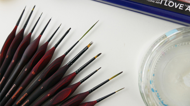 Gerstaecker Ergonomic Mini Brushes by Amylee Paris