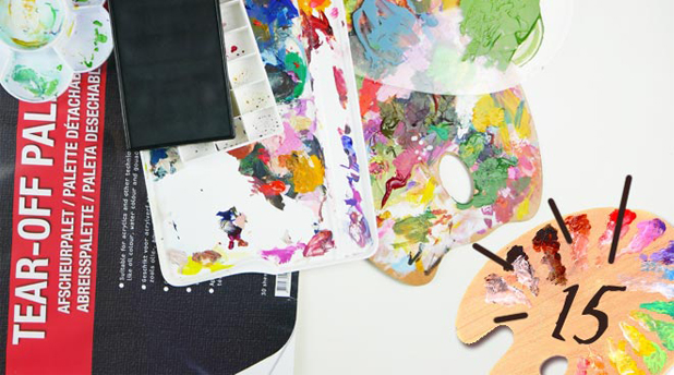 15 Artists' Palettes for your Studio