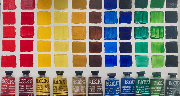 Blockx Oil Colour by Jo York