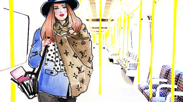 The Story of the Fashion Illustrator by Amylee Paris