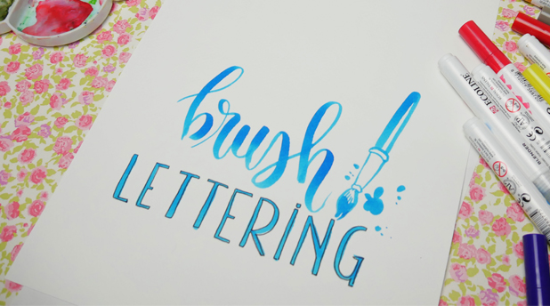 Brush Lettering with Amylee