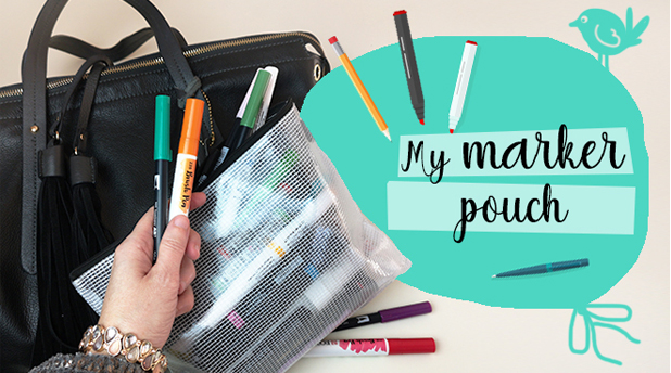 Amylee's Marker Pouch Tips and Ideas