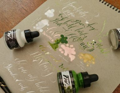 FW Ink from Daler Rowney