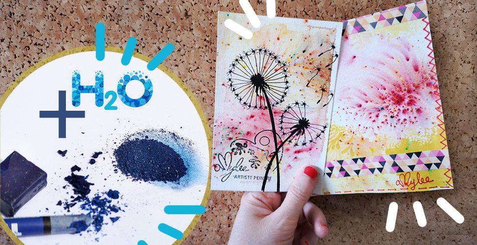 DIY Watercolour Powder