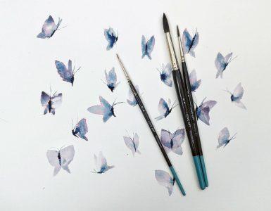 I Love Art Watercolour brushes