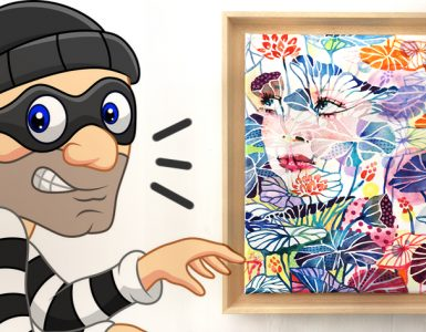 Secure your painting