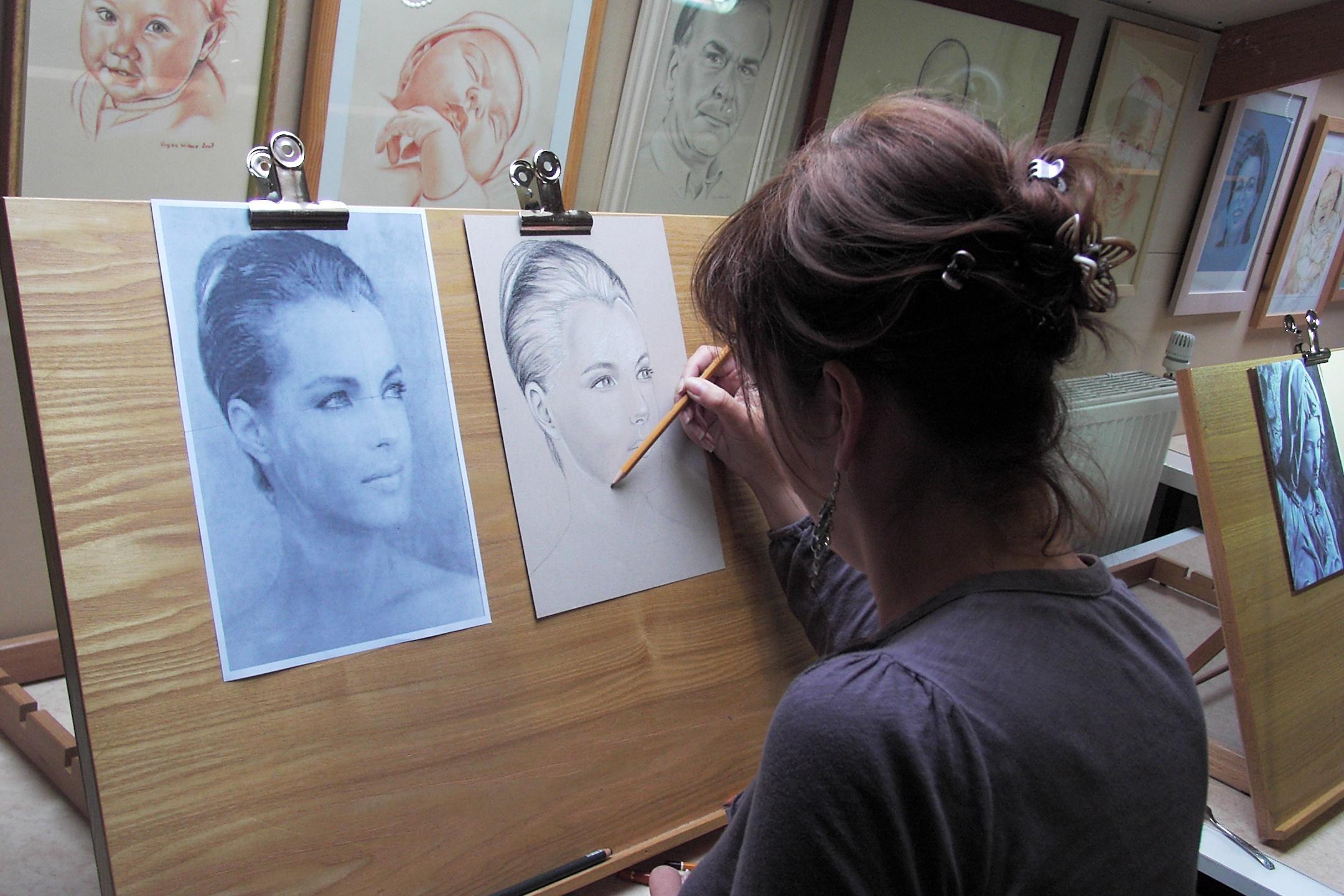 Stage dessin portrait Wibaux