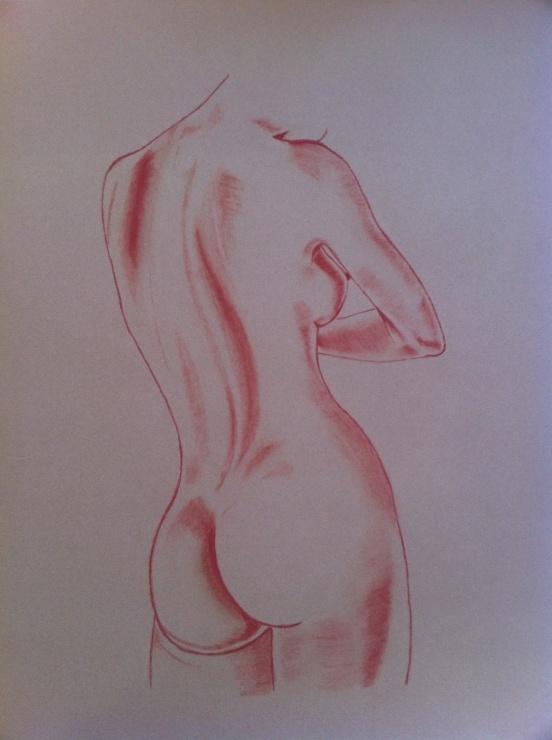 Comment dessiner un nu à la sanguine
