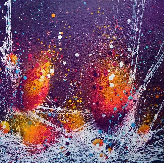Tuto Peinture Semi Abstraite En Technique Mixte Par Cynthia Dormeyer