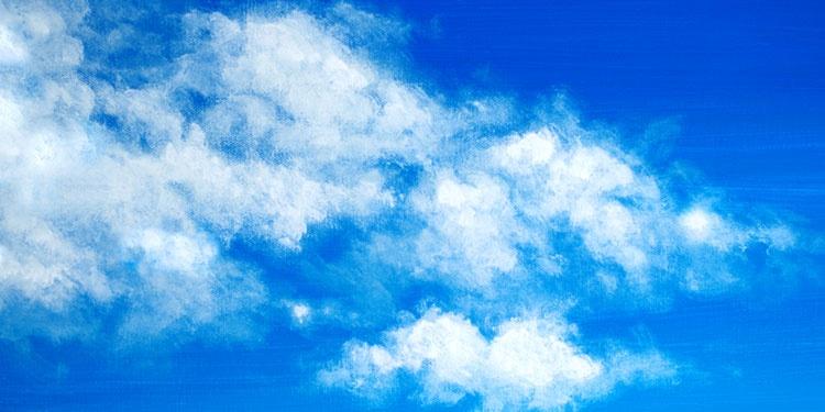 peindre un ciel