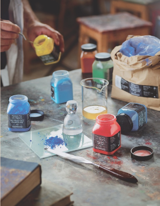 Mode d emploi pour r aliser votre propre peinture en 3 tapes - Le geant des beaux arts bordeaux ...