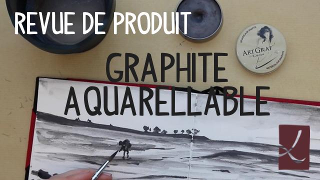 Utilisation du graphite aquarellable