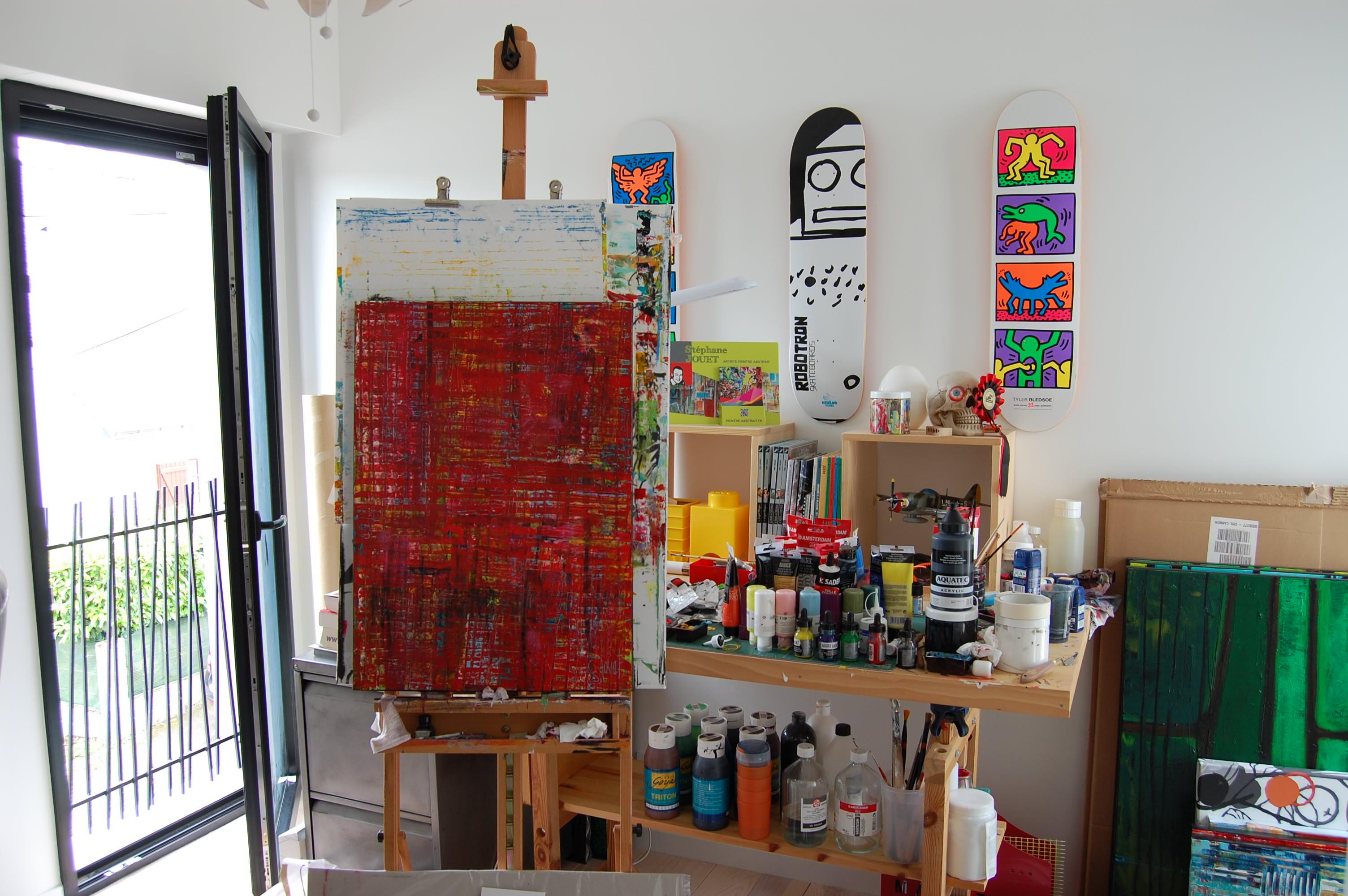 Rencontre avec l 39 artiste peintre st phane jouet - Le geant des beaux arts bordeaux ...