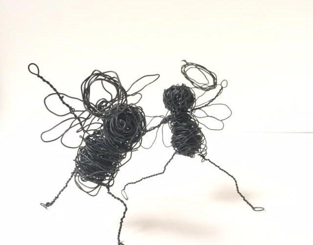 Sculpture En Fils De Fer Avec Les élèves Adultes Disabelle Kessedjian