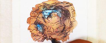 Speed painting : minimalist landscape Le Grand Canyon par Bruno Bosse