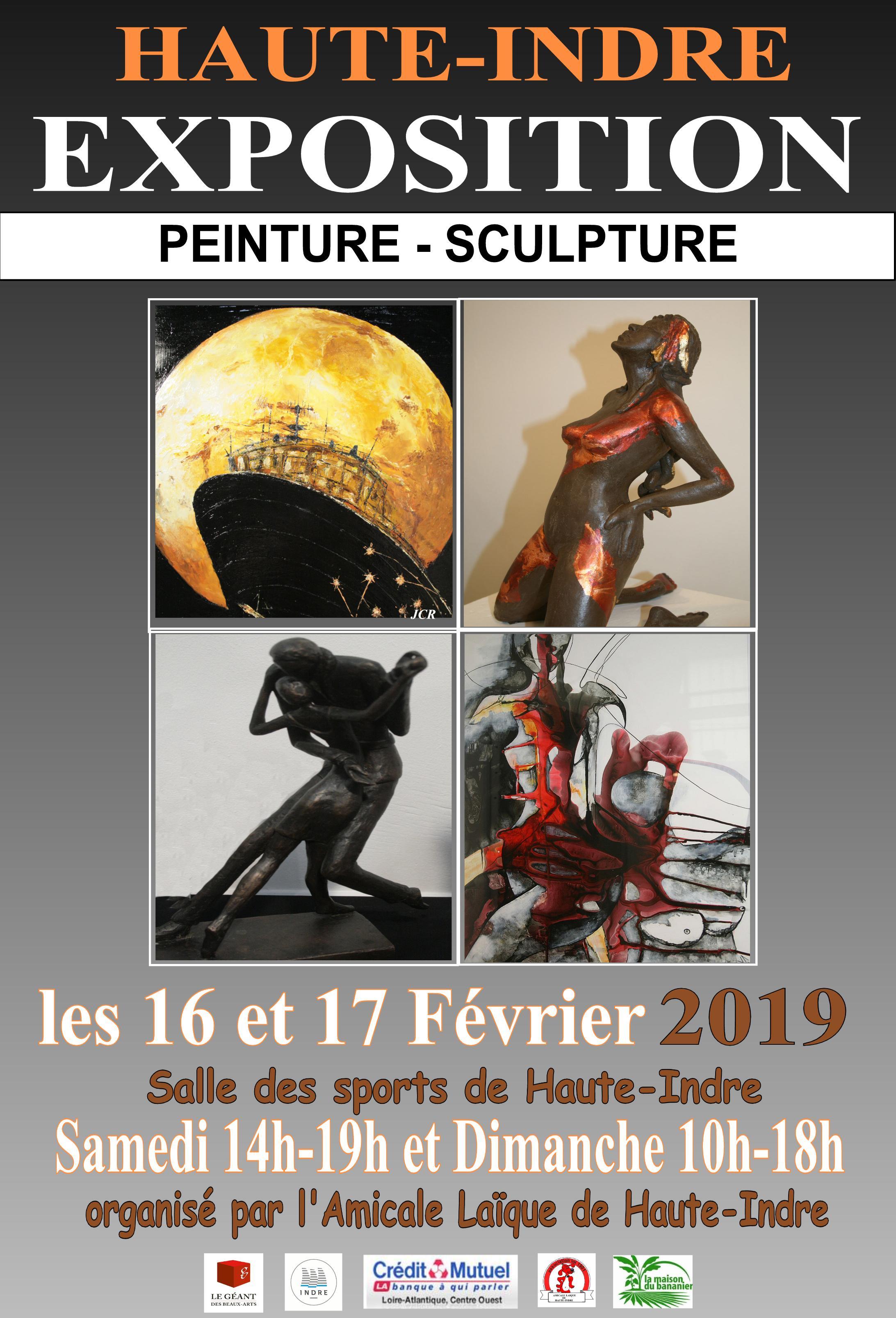 Haute Indre – Exposition de Peinture/Sculpture